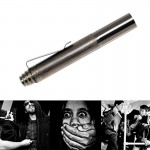 3 Sections Retractable Self Defense Baton Stick Emergency Escape Tool for Travel, Hiking Outdoor Sports