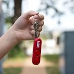 120 dB Personal Alarm Double Loudspeaker LOUD Dual Alarm - RED