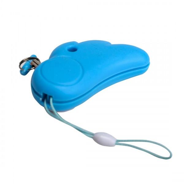 110 db Loud Cute Angel Personal Alarm Whistle - Blue