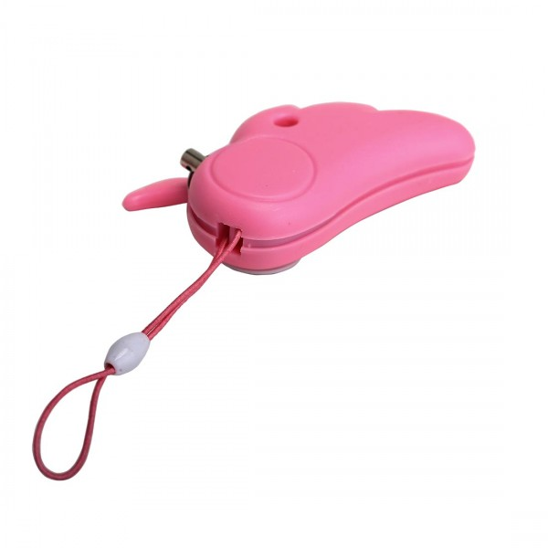 110 db Loud Cute Angel Personal Alarm Whistle - Pink