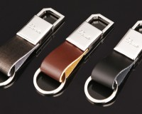 Maintenance of leather keychain