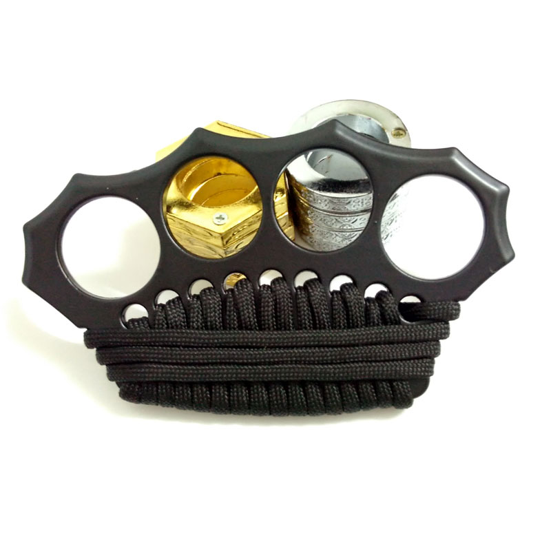 Summoner Brass Knuckles Street Fighting Nylon Knuckle ...