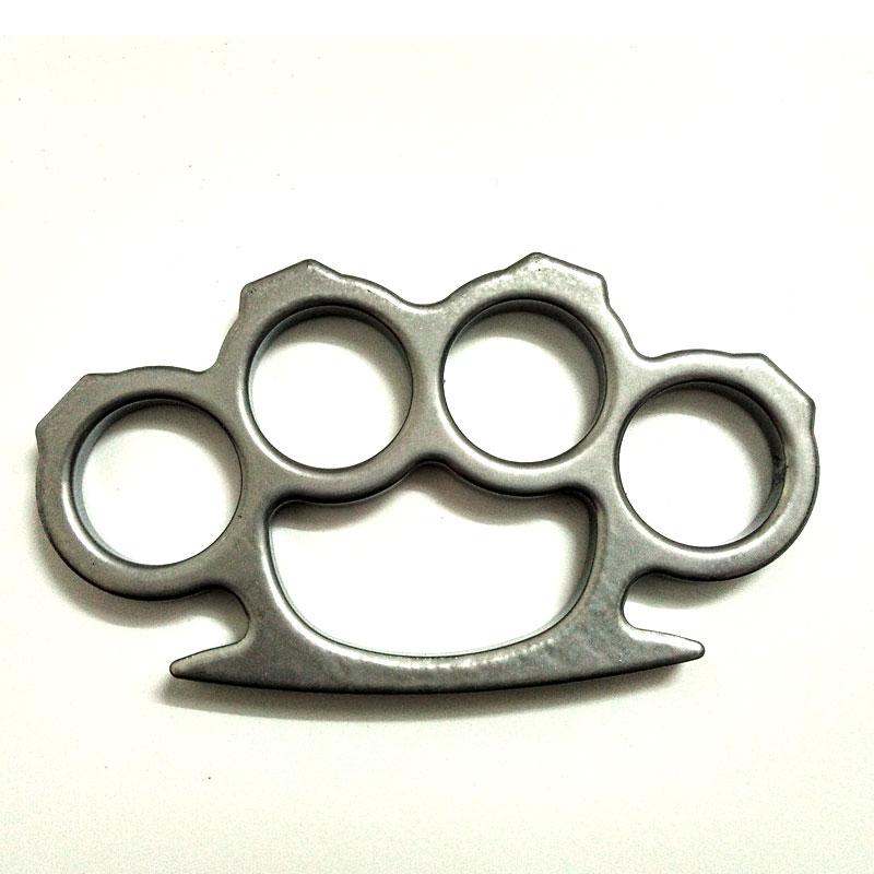 Lightweight Thin Knuckle Dusters Street Fighting Brass ...
