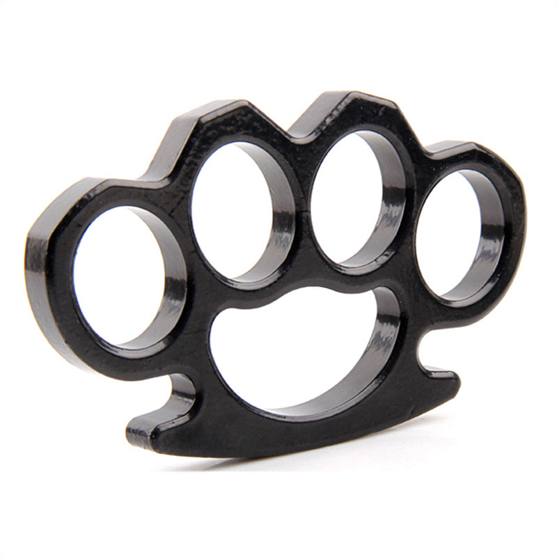 Thick Brass Knuckles Street Fighting Knuckle Dusters ...