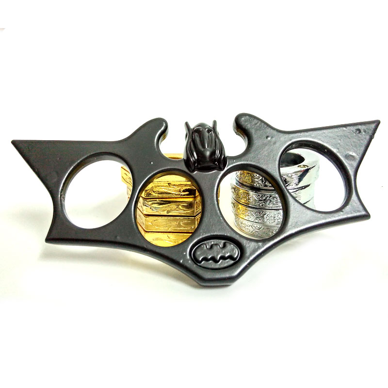 Batman Brass Knuckles Street Fighting Knuckle Dusters ...