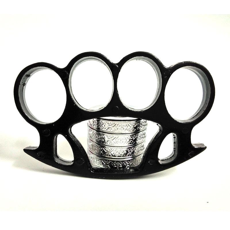 Iron Fist Brass Knuckles Street Fighting Knuckle Dusters ...