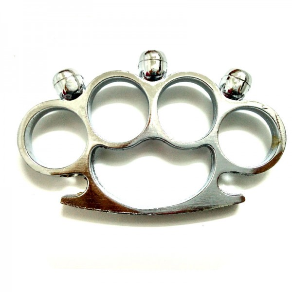 Skull Brass Knuckles Fighting Knuckle Duster Iron Fist ...
