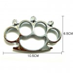 Skull Brass Knuckles Fighting Knuckle Duster Iron Fist