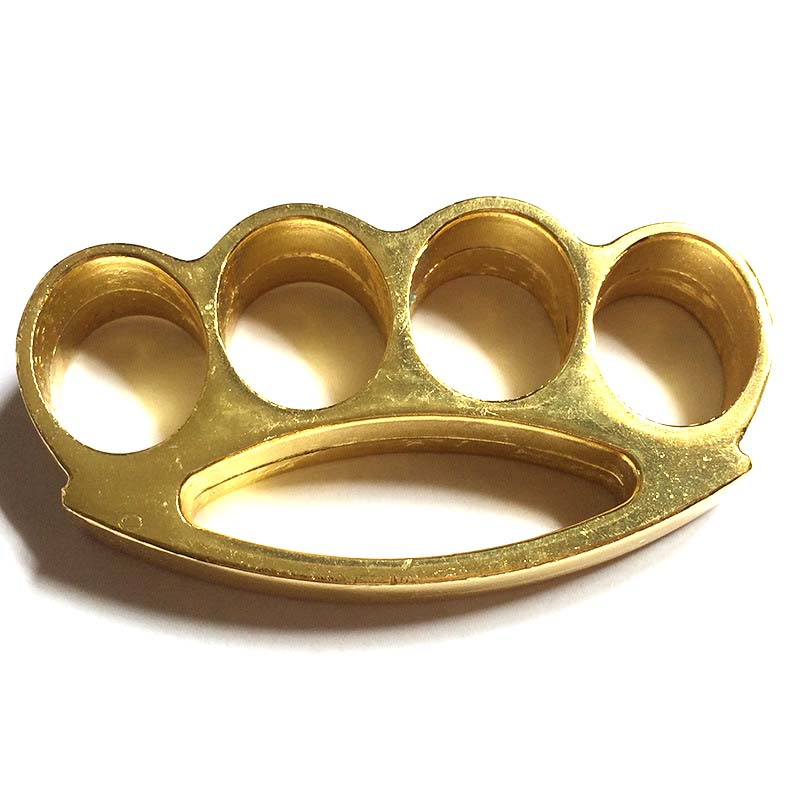 Medium Cone Brass Knuckles Fighting Knuckle Duster ...