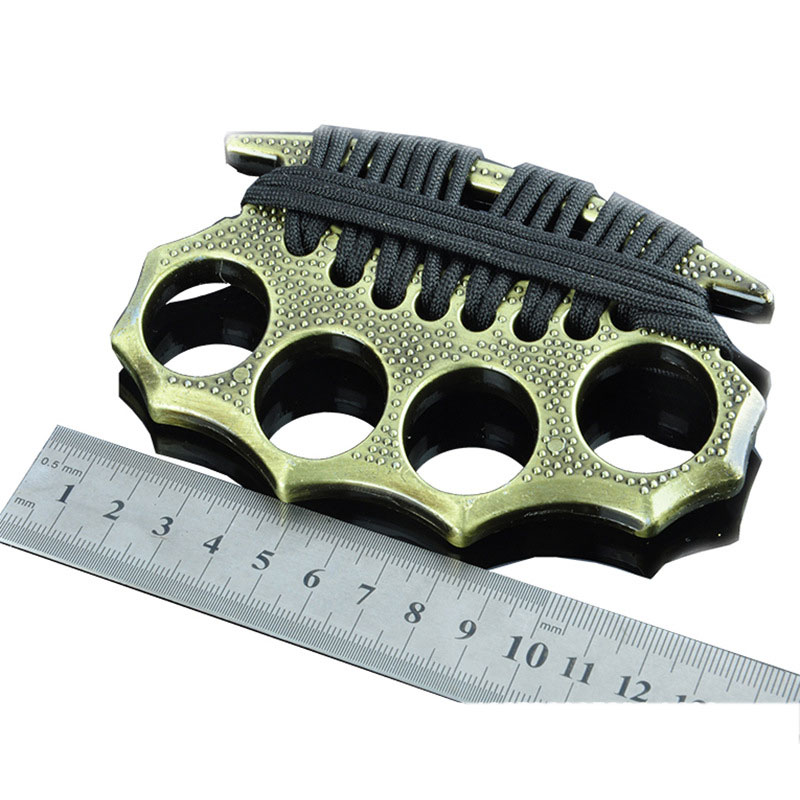 Thread Iron Fist Brass Knuckles Fighting Knuckle Duster ...