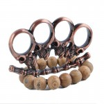 Zombies Skull Iron Fist Brass Knuckles Fighting Knuckle Duster