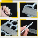 Mini Cone Brass Knuckles Fighting Knuckle Duster
