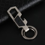 Multi-function Mens Keychain Car Key Ring Bottle Opener With Led Lights