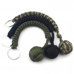 Monkey Fist - Outdoor Survival Key Chain Carabiner Adamantine Rope