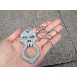 Skull Self Defense Keychain