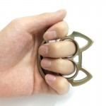 Creative Mini Cartoon Pig Knuckles - Self Defense Protection Keychain