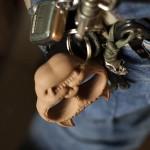 Tiger Finger Ring Keychain Crafts
