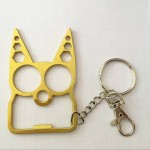 Cat Self-Defense Keychain Opener Wrench