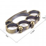 Brass Knuckles Weapon Buckle Self Defense Weapon