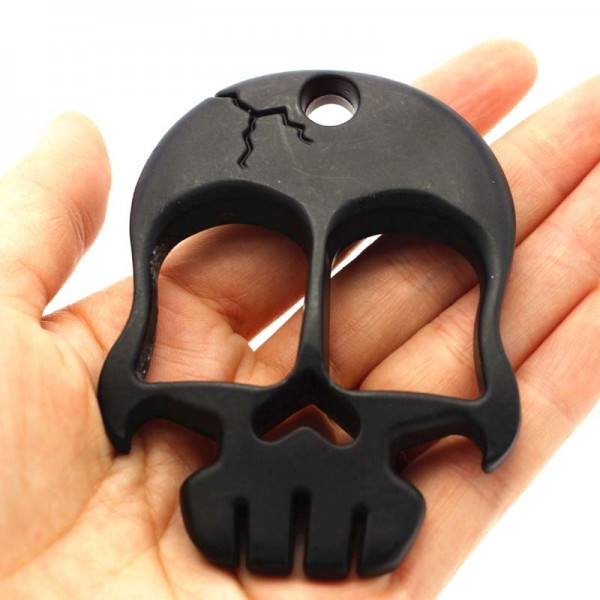 Skull Knuckles Weapon Self defense Iron Fist
