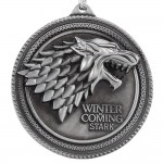 Game of Thrones: House Stark Direwolf Sigil Keychain