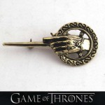 """Hand of the King"" Pin and ""Game of Thrones"" Brooch"