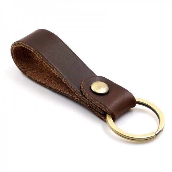 Leather Key Ring Holder HandMade Key Chain Key Case Waist