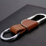 Premium Leather Keychain Creative Business Gifts Key Ring Key Chain