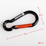 5 pcs Buckle Carabiner Outdoor Hiking Clip