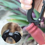 Carabiner Outdoor multi usage keychain tool
