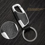 Business & Casual Leather Car Keychain Holder