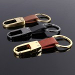 Genuine Business Leather Car Keychain Holder