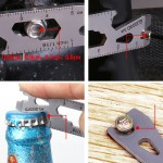 Portable Outdoor Keychain Multi Tool