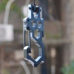 Edc Carabiner Pulley System Keychain