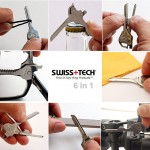 6-In-1 Multi-Function Keychain Tool